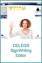 Delegs SignWriting Editor