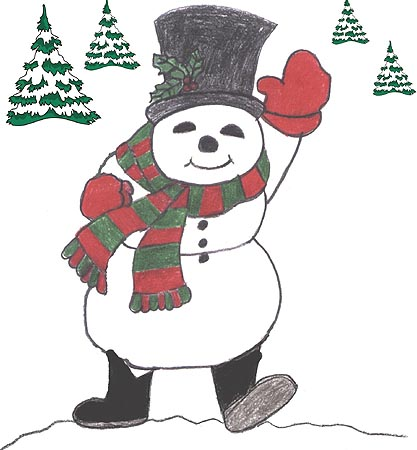 back to thefirst page of Frosty The Snowman....