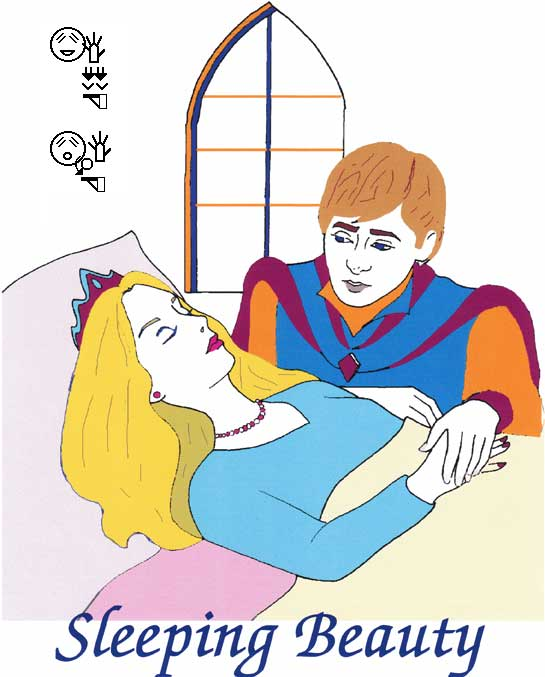 Sleeping Beauty in American Sign Language