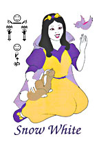 Snow White in ASL Workbook